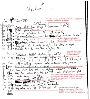 The Cure - Blog Notes